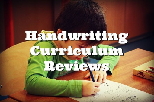 Handwriting Curriculum Reviews