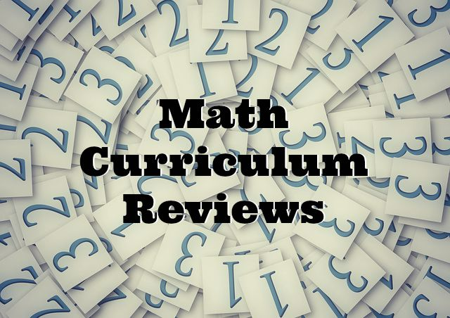 Math Curriculum Reviews