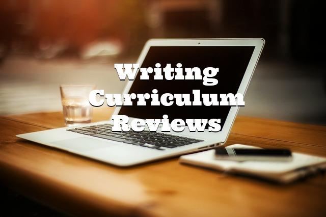 Writing Curriculum Reviews